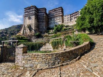 希腊阿索斯山修道院11