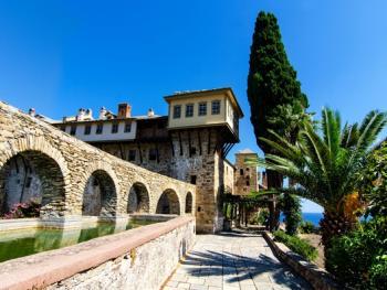 希腊阿索斯山修道院