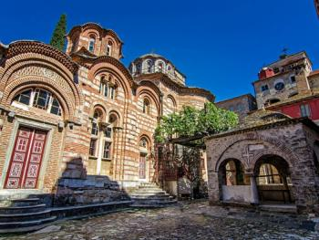 希腊阿索斯山修道院13
