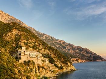 希腊阿索斯山修道院14
