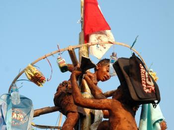 国庆日的爬槟榔树比赛14