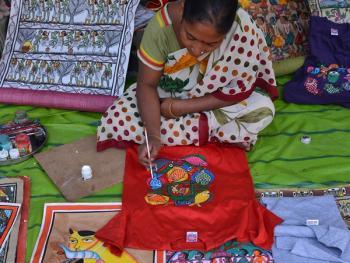 印度绘画村11