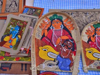 印度绘画村12
