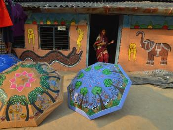 印度绘画村04