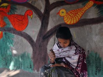 印度绘画村06