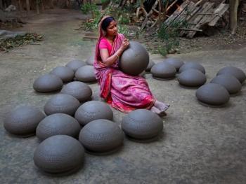 孟加拉制陶10