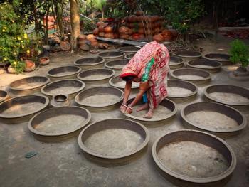 孟加拉制陶02