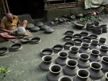 孟加拉制陶06