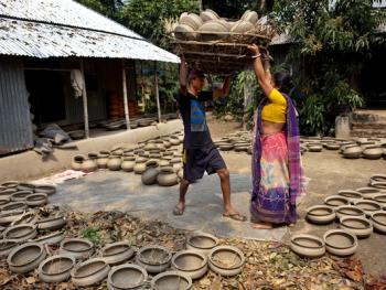 孟加拉制陶07