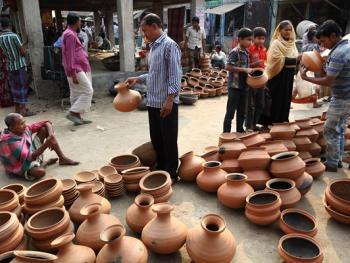 孟加拉制陶08