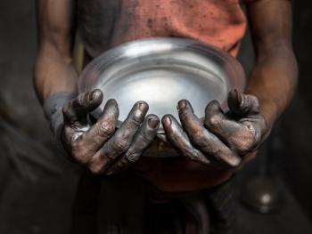 孟加拉铝制餐盘作坊07