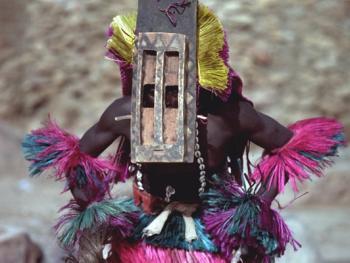 马里多贡人面具舞2