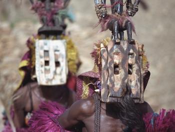 马里多贡人面具舞5