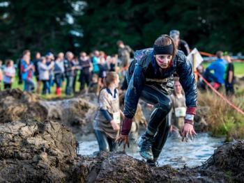 新西兰基督城泥地赛跑11