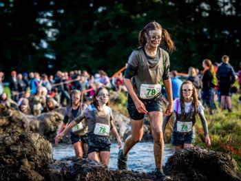 新西兰基督城泥地赛跑12