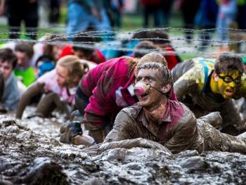 新西兰基督城泥地赛跑07