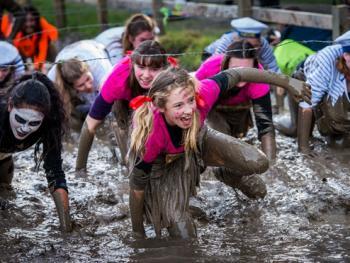 新西兰基督城泥地赛跑08