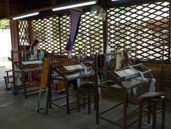 柬埔寨丝绸制作09