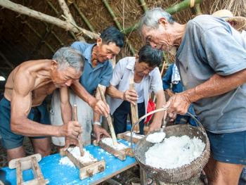 煎海煮波制盐法11