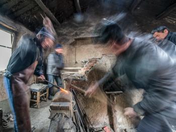 克什克腾最后的铁匠铺