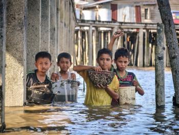 印尼挖蛤蜊10