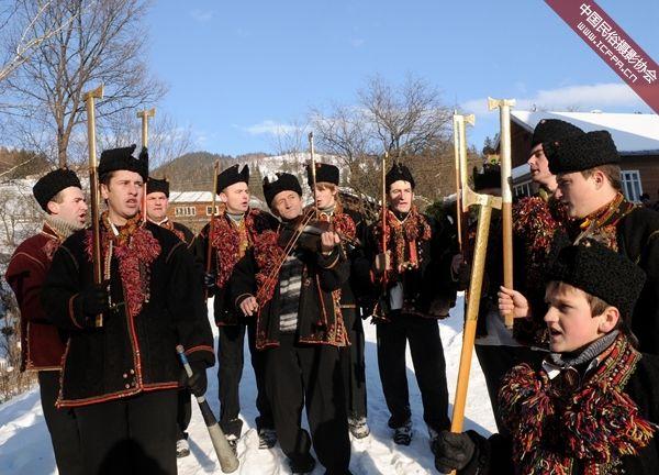 胡楚尔人的圣诞颂歌传统