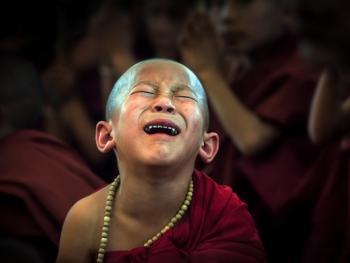 缅甸巴奥男孩入寺仪式仪式10