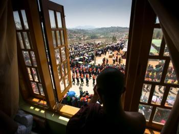 缅甸巴奥男孩入寺仪式仪式12
