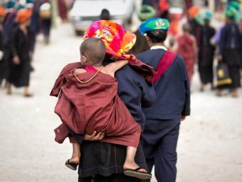 缅甸巴奥男孩入寺仪式仪式14