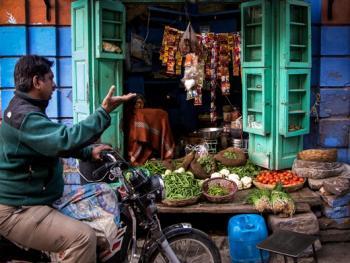 斋浦尔小巷里的买卖人