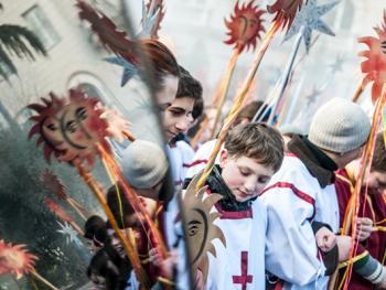 第比利斯耶稣诞生日庆典游行10