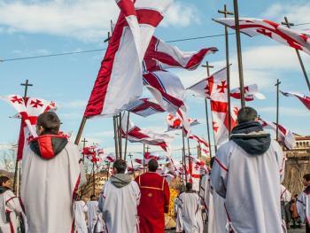第比利斯耶稣诞生日庆典游行11