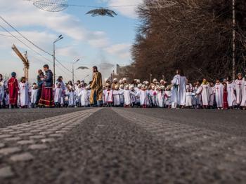 第比利斯耶稣诞生日庆典游行13