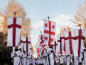 第比利斯耶稣诞生日庆典游行02