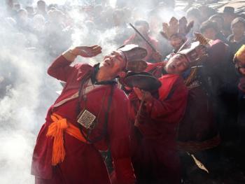 木雅藏族展佛节10