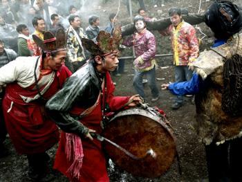 木雅藏族展佛节13