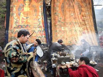 木雅藏族展佛节03