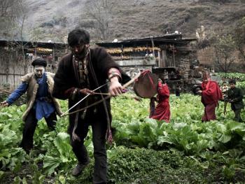 木雅藏族展佛节05