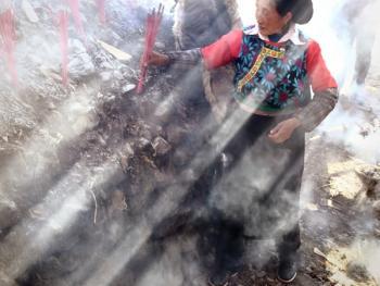 木雅藏族展佛节08