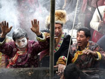 木雅藏族展佛节09