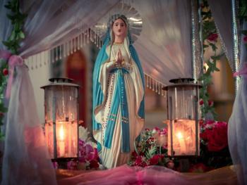 涠洲岛的圣母升天节11