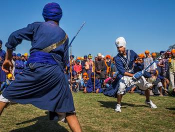 锡克教的霍拉莫哈拉节11