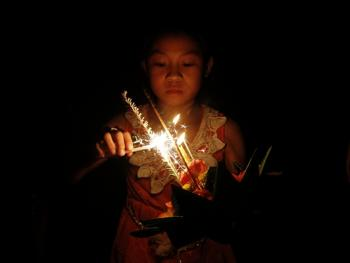 老挝水灯节10