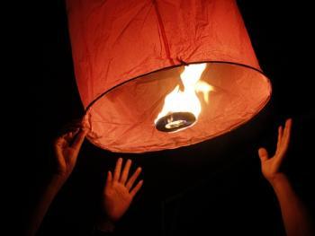 老挝水灯节14