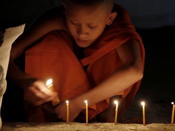 老挝水灯节03