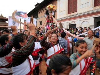 尼泊尔神牛节11