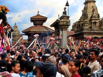 尼泊尔神牛节13