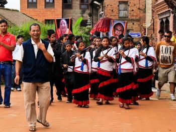尼泊尔神牛节06