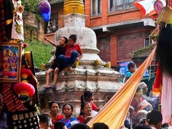 尼泊尔神牛节07