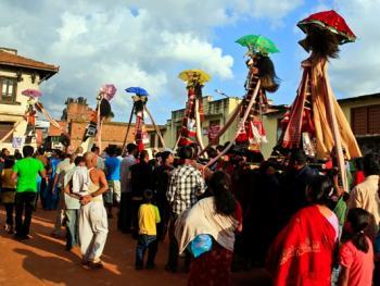 尼泊尔神牛节09